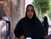 زوجها تزوج عليها وترك لها 5 بنات.. أميرة الشاى تكافح على أسرتها ببيع المشروبات