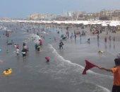 إقبال على الحدائق والمتنزهات والشواطئ ببورسعيد.. والمحافظ: لم نتلق أى شكاوى