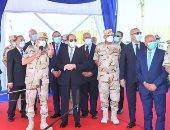 الرئيس السيسى يوجه بالالتزام بالخطة الزمنية لتطوير الطرق بالإسكندرية