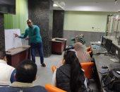 إطلاق إشارة البدء لتدشين أكاديمية محافظة أسوان للتدريب والتنمية المهنية المستدامة
