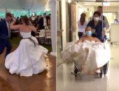 رقصة تقود عروس فى أمريكا من حفل الزفاف إلى المستشفى.. اعرف التفاصيل