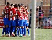 أتلتيكو مدريد يفوز على نومانسيا وديا استعدادا للموسم الجديد
