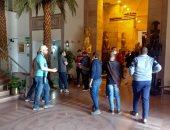 المركز الثقافى الأفريقى يستقبل 1200 زائر خلال إجازة عيد الأضحى.. صور