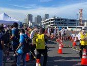 أولمبياد طوكيو .. زحام فى طوابير نقل الإعلاميين إلى حفل افتتاح الأولمبياد