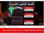 الأسعار الجديدة للبنزين والمواد البترولية بعد إعلان تطبيقها اليوم رسميا