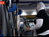البلدوزر.. العملاقة جيهان أقوى سيدة فى مصر بطلة العالم فى مصارعة الذراعين