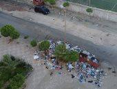 أهالى مدينة طوسون بالإسكندرية يشكون من انتشار القمامة.. وشركة النظافة تستجيب