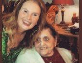 """يسرا فى الذكرى الثانية لوفاة والدتها: """"وحشتينى وخدتى معاكى الفرح كله"""""""