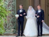"""""""يكبرها بـ 32 عاما""""..ليدي كيتي سبنسر تحتفل بزواجها من حبيبها الإيطالي فى روما"""