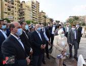 رئيس الوزراء: توجيهات من الرئيس بضغط المخطط الزمنى لتنفيذ مشروع حدائق الفسطاط.. صور