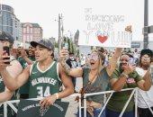 الفرحة فى شوارع أمريكا.. احتفالات تتوج ميلووكى باكس بلقب دورى كرة السلة