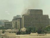 التحريات تكشف سبب نشوب حريق بمبنى الإصلاح الزراعي في الدقي