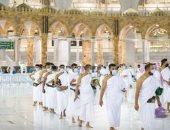 وصول أول فوج من المعتمرين للمسجد الحرام بعد انتهاء موسم الحج.. صور