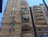 ميل جديد فى عقار بالإسكندرية بعد ساعات من كارثة عقار الـ19 طابقا.. فيديو