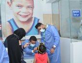 جامعة أسيوط تتابع القافلة الطبية المجانية لفحص والكشف على 30 طفلاً ليبيا