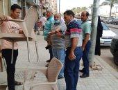 رفع 453 حالة إشغال طريق وتحرير 27 محضرا لعدم ارتداء الكمامات بالبحيرة