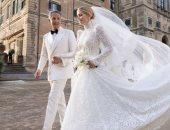 أول تعليق من ليدي كيتي بعد زواجها من ملياردير إيطالي يكبرها بـ32 عاما