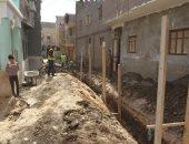 """محافظ سوهاج: ارتفاع عدد مشروعات الصرف الصحى لـ76 مشروعا بقرى """"حياة كريمة"""""""