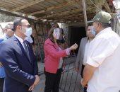 محافظ دمياط تقيل رئيس الوحدة المحلية لقرية الركابية خلال جولة مفاجئة