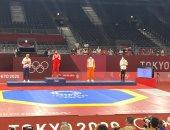 اولمبياد طوكيو.. شاهد تتويج هداية ملاك ببرونزية التايكوندو على المنصة