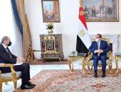 الرئيس السيسي يبحث مع وزير الخارجية الأردني مستجدات الأوضاع في المنطقة