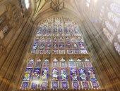 تعرف على تفاصيل أقدم نوافذ زجاجية ملونة فى كاتدرائية كانتربرى ببريطانيا.. صور