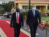 رئيس الوزراء يستقبل نائب رئيس جمهورية جنوب السودان.. صور