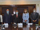 وزير التنمية المحلية ومحافظ القاهرة يوقعان اتفاقا لتدريب العاملين بالمحافظة
