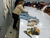 جهاز تنمية المشروعات يدرب فتيات الشرقية على تصميم الأزياء