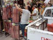 حملات دورية لرفع الإشغالات ومصادرة الشيش من المقاهى بالشرقية