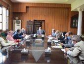 """رئيس جامعة بنى سويف يترأس اجتماعى """"اللجنة العليا للإشراف على المجلات العلمية"""""""