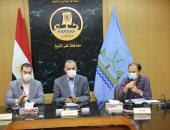 صور.. محافظ كفر الشيخ يستعرض 585 مشروعاً لحياة كريمة