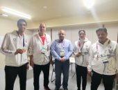شاهد تكريم اللجنة الأولمبية لـ هداية ملاك وسيف عيسى فى طوكيو