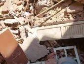 انهيار منزل من طابقين فى قنا دون إصابات