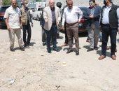 محافظ بنى سويف يحيل رئيس منطقة للتحقيق بسبب التراخى فى رفع ناتج حفر