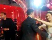 رامي صبري يحي حفل زفاف حمدي فتحي في أول ظهور بعد وفاة شقيقه.. فيديو