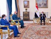الرئيس السيسى: الجيوش الوطنية عمود فقرى ضامن لتماسك واستقرار الدول