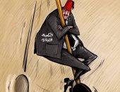 بدء احتساب الوقت على الحكومة اللبنانية الجديدة لمعالجة الأزمات بكاريكاتير إماراتى