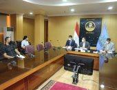 نائب محافظ كفر الشيخ يجرى مقابلات شخصية لـ40 مرشحا لدورات وزارة التنمية المحلية