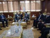 """وفد """"محلية النواب"""" يزور محافظة الغربية لتفقد عدد من المشروعات"""