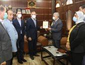 محافظ كفر الشيخ يهنئ اللواء خالد العزب لتوليه منصب مساعد وزير الداخلية لوسط الدلتا