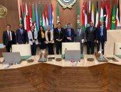 وفد من نواب تنسيقية شباب الأحزاب يزور جامعة الدول العربية ويتفقد أروقتها التاريخية