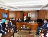 محافظ الفيوم يهنئ مدير الأمن الجديد بتولى مهام منصبه