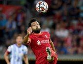 محمد صلاح يصنع هدفا بالكعب في تعادل ليفربول مع هيرتا برلين 2-2 بالشوط الأول
