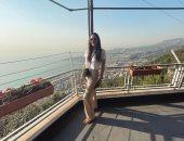 """هنادى مهنا بإطلالة جديدة خلال إجازتها فى بيروت.. وجمهورها: خسيتى إزاى """"صور"""""""
