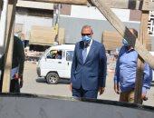 محافظ القليوبية يتفقد أعمال ممشى النيل وتطوير ميدان المحطة بمدينة بنها