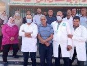 تجديد شهادة الأيزو لمعمل محطة أبو شلبى لمياه الشرب بالشرقية
