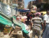 حملات نظافة وتجميل وتحسين الخدمات وإزالة إشغالات بكفر الشيخ وقلين