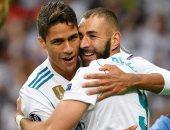"""مصافحة ورسائل وادع بين فاران وزملائه فى ريال مدريد.. وبنزيما: أنت أسطورة """"صور"""""""
