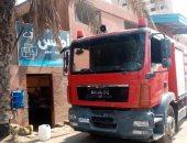 الحماية المدنية بالقليوبية تسيطر على حريق بمنزل فى القناطر الخيرية